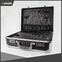 Black Aluminum Eva Carrying Hardware Tool Case