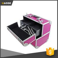 Make-Up, Cosmetic, Vanity Case with Fold Out Trays