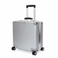 Hot Sale Factory Price All Aluminum HardShell Luggage Case Carry On Spinner Suitcase