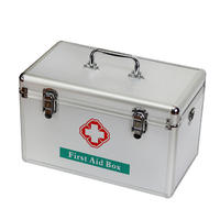 Hot Sale Lockable First Aid Kit Medicine Carry Case for Emergency