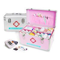 Hot sale aluminum first aid medical box medicine equipment storage case